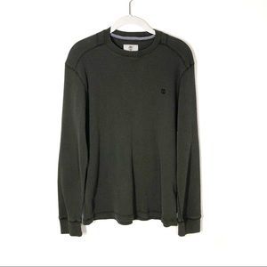 Timberland Regular Fit thermal shirt olive small